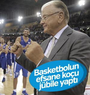 Ünlü basketbol koçu Ivkovic'ten jübile