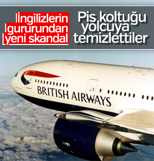 British Airways'in yeni skandalı