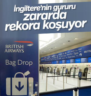 British Airways 500 milyon pound kaybetti